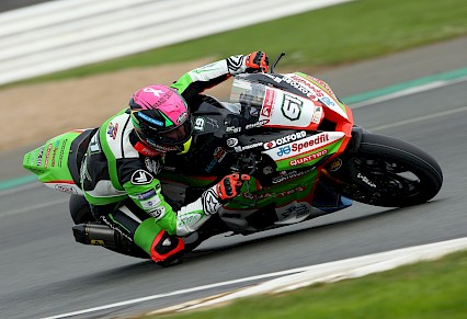 BJ ready for Superbikes